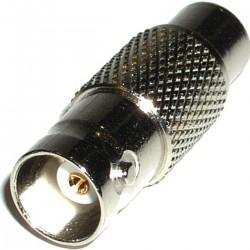 Adaptador Coaxial (BNC/RG59-H a RCA-H)