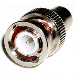 Adaptador Coaxial (BNC/RG59-M a RCA-H)