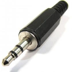 Conector jack de 3,5 mm stereo macho