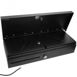 Cajón portamonedas automático de apertura vertical RJ11 impresora TPV POS para billetes y monedas