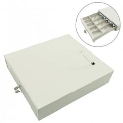 Cajón portamonedas beige automático RJ11 para impresora TPV POS para billetes y monedas