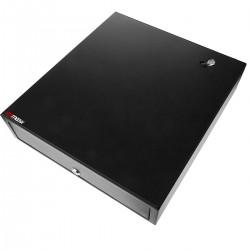 Cajón portamonedas negro automático RJ11 para impresora TPV POS para billetes y monedas