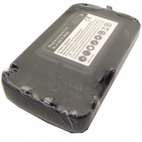 Batería compatible con BlackBerry 9000 extendida con tapa