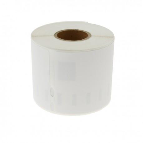 Rollo bobina de 220 etiquetas adhesivas compatibles con Dymo S0722430 y Dymo 99014 54x101mm