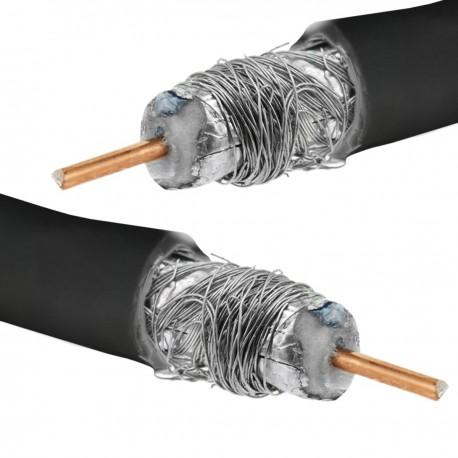 Bobina de cable coaxial RG6U/5C-FB 100m