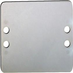 Placas de Señalización 100uds (60x50mm)