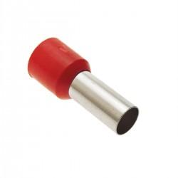 Puntera aislada para crimpar en cable eléctrico 35x18 50 unidades