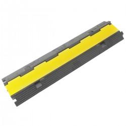 Pasacables de suelo para protección de cables eléctricos de 2 vías 98cm