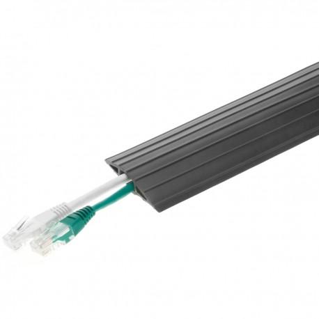 Pasacables de suelo para protección de cables eléctricos de 1 vía 900x6.5cm