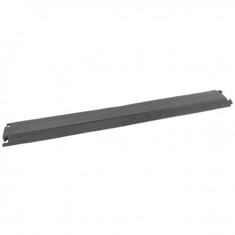 Pasacables de suelo para protección de cables eléctricos de 1 vía 102x13cm