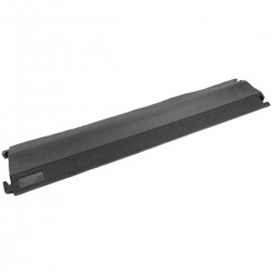 Pasacables de suelo para protección de cables eléctricos de 1 vía 102 x 21.5 cm