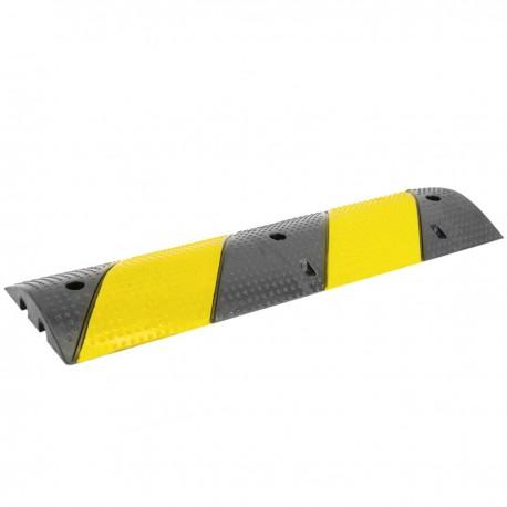 Pasacables de suelo para protección de cables eléctricos 2 vías 99x30cm y reductor de velocidad