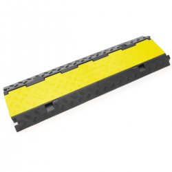 Pasacables de suelo para protección de cables eléctricos de 3 vías 99x30cm