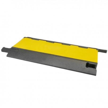 Pasacables de suelo para protección de cables eléctricos de 4 vías 90x50cm