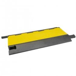 Pasacables de suelo para protección de cables eléctricos de 5 vías 90x50cm