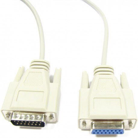 Cable 15pin (DB15-M/H) 1.8m