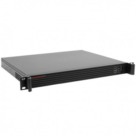"Caja rack 19"" IPC microATX 1U 2x3.5"" fondo 360mm"