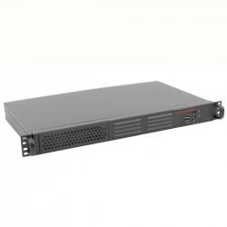 """Caja rack 19"""" IPC mini-ITX 1U fondo 250mm"""