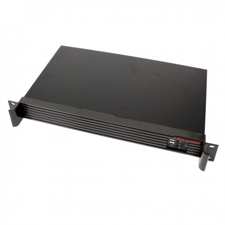 "Caja rack 19"" IPC mini-ITX 1U 1x3.5"" 2x2.5"" fondo 250mm"