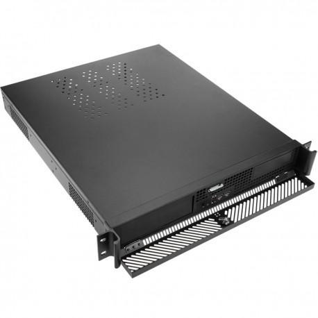 """Caja rack 19"""" IPC mini-ITX 1.3U 1 x 5.25"""" o 4 x 3.5"""" profundidad 508 mm"""