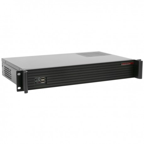 "Caja rack 19"" IPC mini-ITX 1.5U 1x3.5"" 1x2.5"" fondo 250mm"