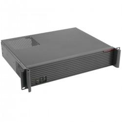 """Caja rack 19"""" IPC microATX 2U 2x3.5"""" fondo 350mm"""