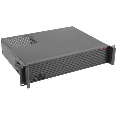 "Caja rack 19"" IPC microATX 2U 2x3.5"" fondo 350mm"