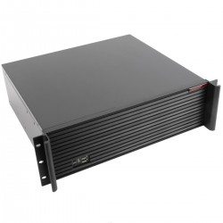 "Caja rack 19"" IPC ATX EATX 3U 9x3.5"" fondo 380mm"