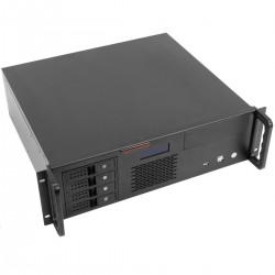 """Caja rack 19"""" IPC microATX ATX 3U 2x5.25"""" 5x3.5"""" fondo 400mm"""