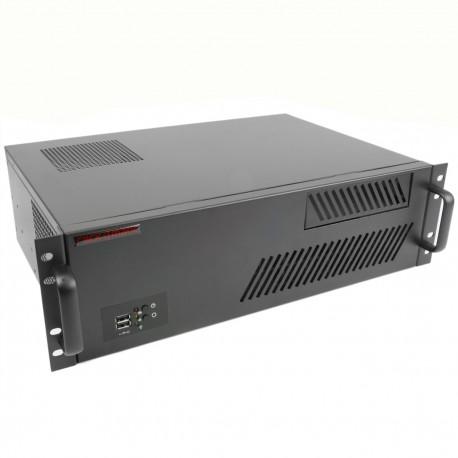 """Caja rack 19"""" IPC microATX ATX 3U 1x5.25"""" 3x3.5"""" fondo 300mm"""
