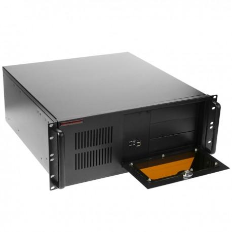"""Caja rack 19"""" IPC microATX ATX 4U 3x5.25"""" 8x3.5"""" fondo 450mm"""