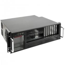 """Caja rack 19"""" IPC ATX 4U 2x5.25"""" 6x3.5"""" fondo 380mm"""