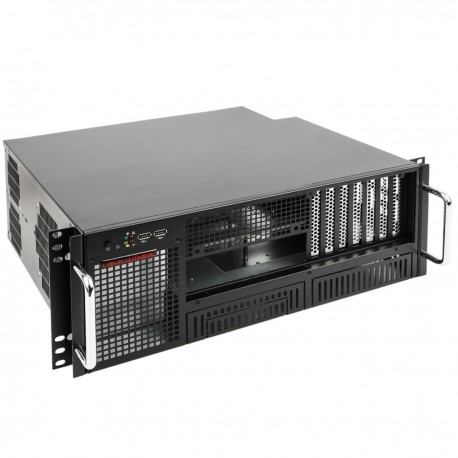 "Caja rack 19"" IPC ATX 4U 2x5.25"" 6x3.5"" fondo 380mm"