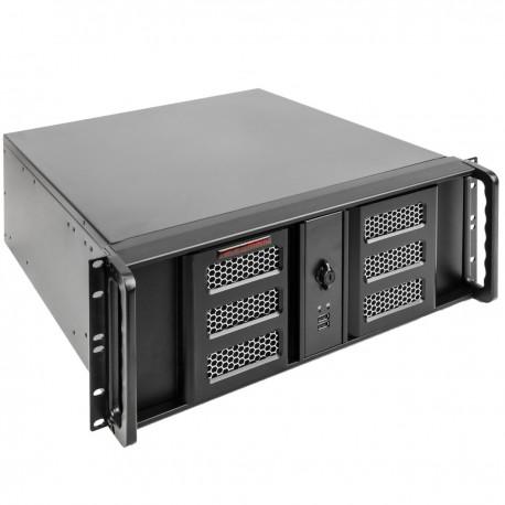 """Caja rack 19"""" IPC ATX 4U 3x5.25"""" 8x3.5"""" fondo 460mm"""