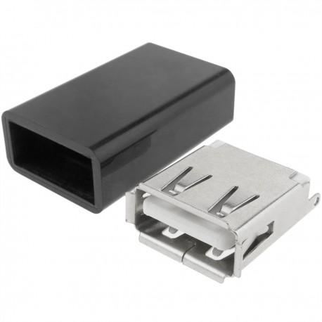 Conector USB para montaje a medida A hembra