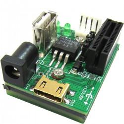Adaptador externo de PCI-Express y USB (1X)