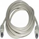 Cable PS2 3m (MiniDIN6-M/M)
