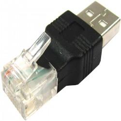 Adaptador RJ45 a USB (RJ45-M/USB-AM)
