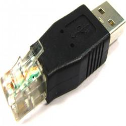 Adaptador RJ11 a USB (RJ11-M/USB-AM)