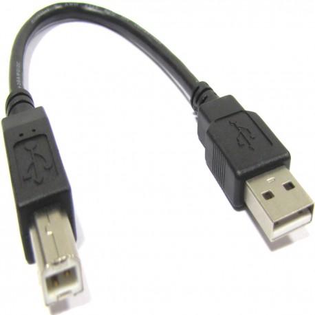 Cable USB 2.0 (AM/BM) 0.2m