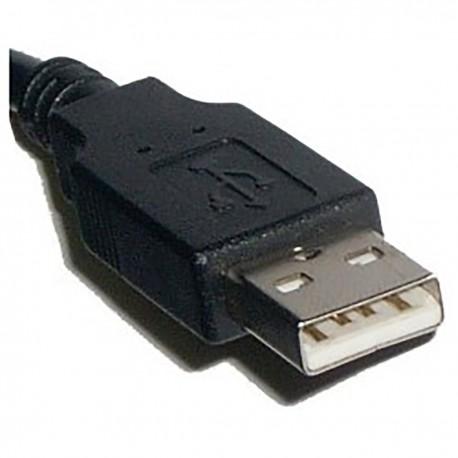 Cable USB 2.0 (AM/MiniUSB5pin-M Tipo B) 1m