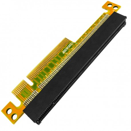 Riser Card de 27.3 mm. Adaptador PCI-Express de 8X a 16X