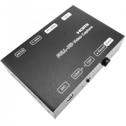 Capturadora de vídeo HDMI por USB compatible con H.264 FullHD 1080p 720p MPEG-4