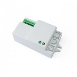 Detector de movimientos compacto mini con control de tiempo luz y distancia