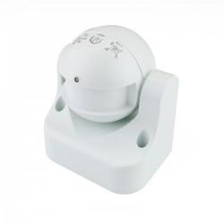 Detector de movimientos superficie orientable con control de tiempo luz y distancia