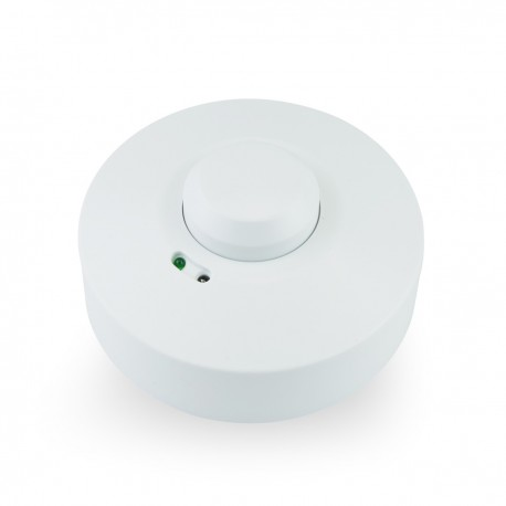 Detector de movimientos superficie techo con control de tiempo luz y distancia
