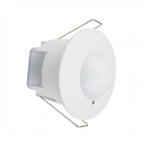 Detector de movimientos empotrado techo con control de tiempo luz y distancia