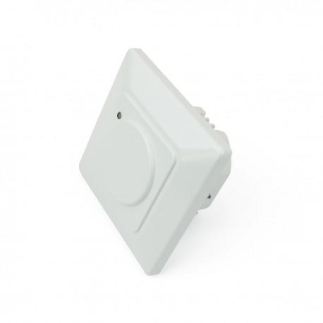 Detector de movimientos empotrado pared 80x80mm con control de tiempo luz y distancia
