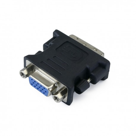 Adaptador DVI-I macho a VGA hembra 15-pin