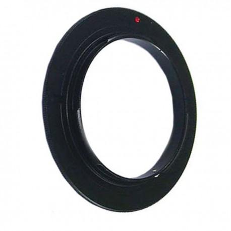 Anillo de rosca a conector macho de objetivo Nikon de 49mm